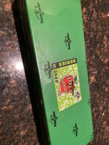 2020 Benchwarmer Hot For Teacher Series 5 Sealed Hobby Box-Autographs