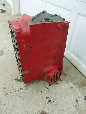 Mccormick Farmall F14 Tractor Original Ih Engine Motor Block Professionaly Cked
