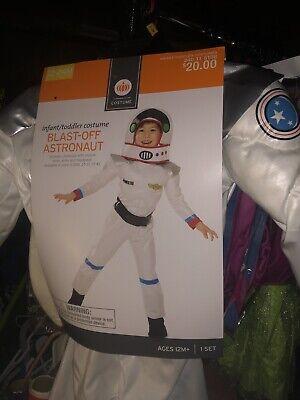 Blast Off Astronaut Halloween Costume (New Blast-off Astronaut Infant/toddler 12-24mos NASA USA Halloween Costume)