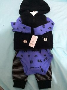 brand new with tags baby boy winter clothing lot carters