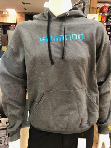Shimano Hoodie Pullover Sweatshirt Gray