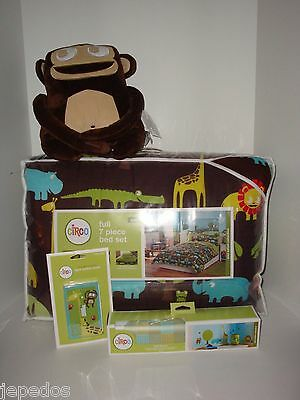 Circo Wild Safari FULL Comforter Shams Sheets Pillow Switch Cover Decals Target on Lookza