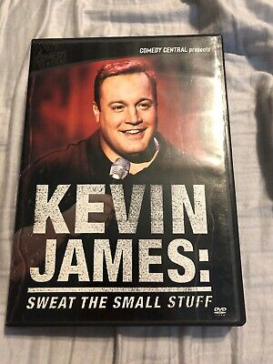 Kevin James - Sweat The Small Stuff DVD Rare OOP Stand-Up Comedy