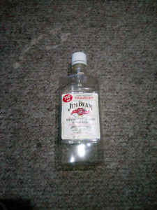 Rare Jim Beam bourbon bottle. EMPTY