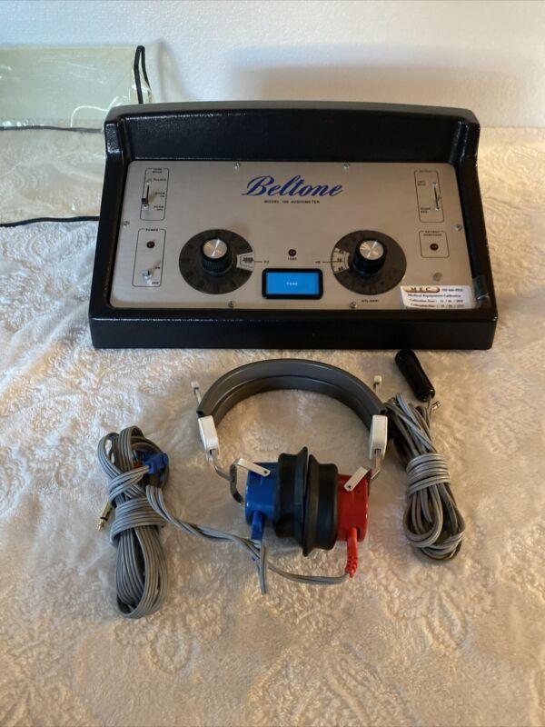 BELTONE Screening AUDIOMETER MODEL 109 Hearing Tester