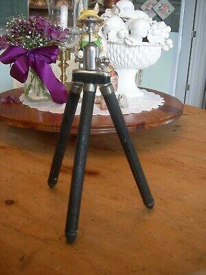 Vintage BILORA Travel Telescoping Camera Tripod + Germany