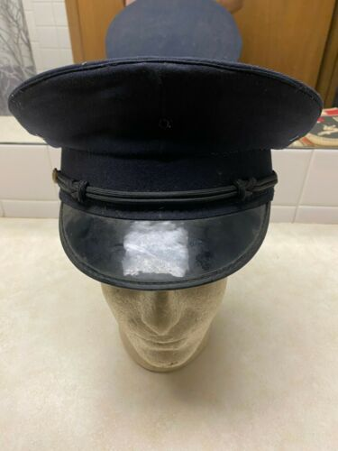 Vintage Kansas City Missouri Police Visor Hat