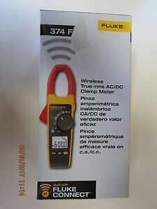 Fluke 374 FC Wireless True-RMS AC/DC Clamp Meter New
