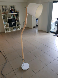 Wooden Modern Floor Lamp