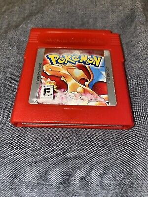Pokemon Red Version Nintendo Gameboy OEM Tested Working Saves