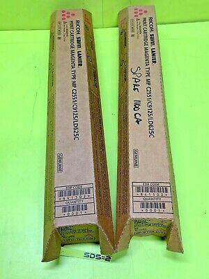 Genuine Ricoh Savin Lanier Toner Cartridge Magenta Mp C2551c9125ld625c Oem