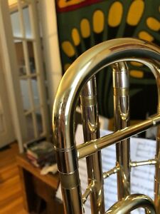 Blessing F-attachment Trombone, beautiful condition + Hardcase