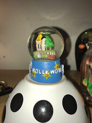 LA souvenirs Mini Hollywood Snow Globe