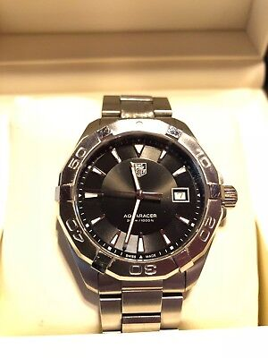Excellent Tag Heuer Aquaracer 300M 40.5MM Black Dial  WAY1110.BA0928