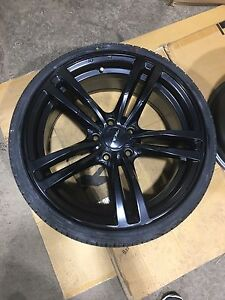 """19"""" Bmw rims and tires"""