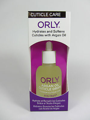 24500 - Orly Nail Treatment - ARGAN OIL CUTICLE DROP .6oz - SOFTEN CUTICLES