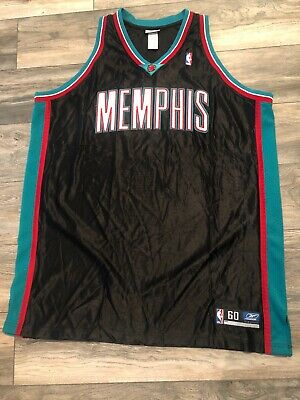 New Authentic Reebok Memphis Grizzlies NBA Jersey Pro Cut On Court Men's 60