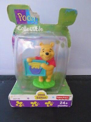 Winnie The Pooh Spielfigur Sammlerstück 1999 Edition Fisher Price Disney (Winnie The Pooh Sammler)