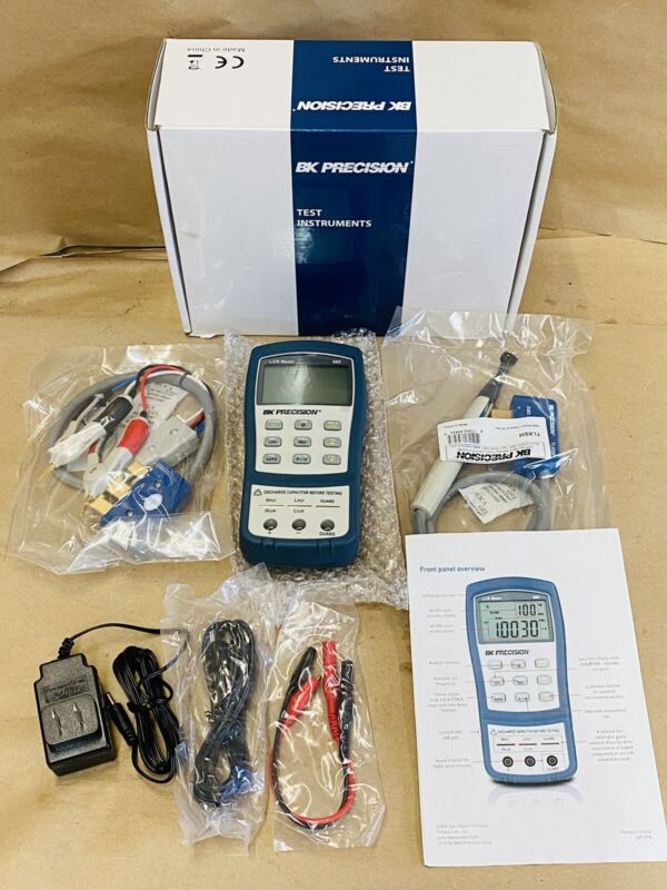 New Open Box !! BK Precision LCR Meter 880- Fast Shipping !!