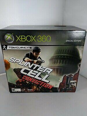 Xbox 360 Splinter Cell Conviction Special Edition Sealed Rare New In Box Console