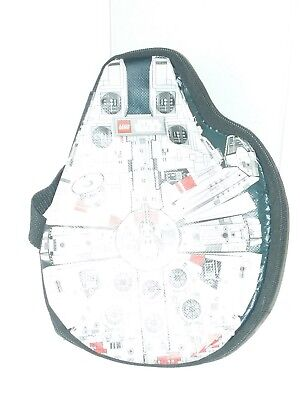 Lego Star Wars Zip-Bin Millennium Falcon Storage Carrying Case