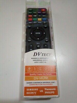 Mando TV Universal a distancia para LG, Panasonic, Samsung, Phillips, Sony