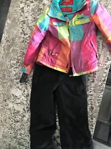 Kids snow suit jacket and pants
