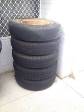 Tyres on Spit Rims Alfred Cove Melville Area Preview