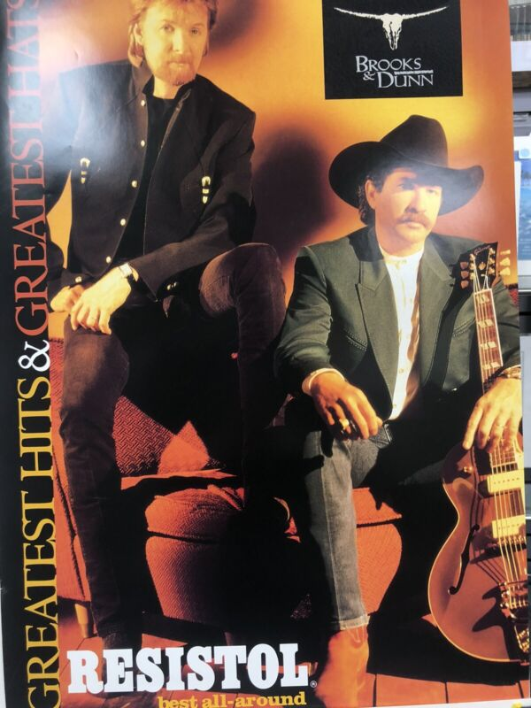 Resistol Hats Poster- Brooks And Dunn