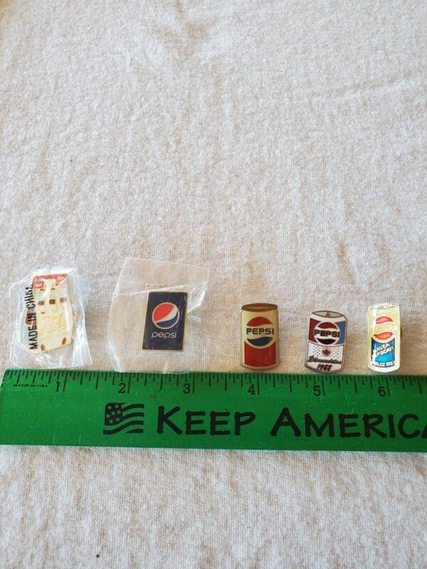 Pepsi Lapel Pins (5)