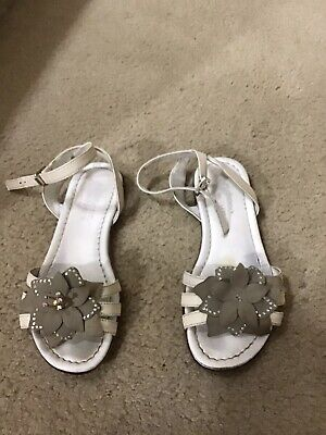 Andrea Montelpare Kids Girls Italy Leather Dress Sandals 33