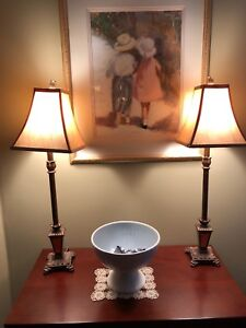 Set of two buffet lamps - Bombay