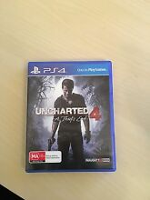 PS4 uncharted 4 for sale Adelaide CBD Adelaide City Preview