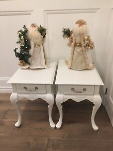 Pair of Beautifully Refinished Side or End Tables