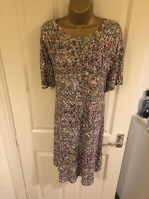 House Of Holland Dress Size 10 Multi Colour