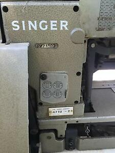 Industrial Singer Buttonhole Sewing Machine Gaven Gold Coast City Preview