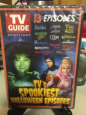 TV Guide Spotlight: TV's Spookiest Halloween 13 Episodes Brand New DVD Free Ship](Episodes Halloween)