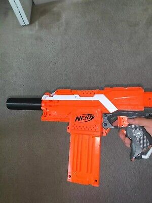 3D Printed Nerf Suppressor/Silencer Barrel Attachment ( Not Including The Gun)