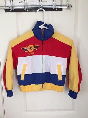 Vintage 80s-90s Coca Cola Boys Jacket Size 8