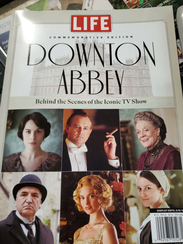 Downton Abby Life Magazine