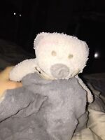 Lost security toy bear blanket