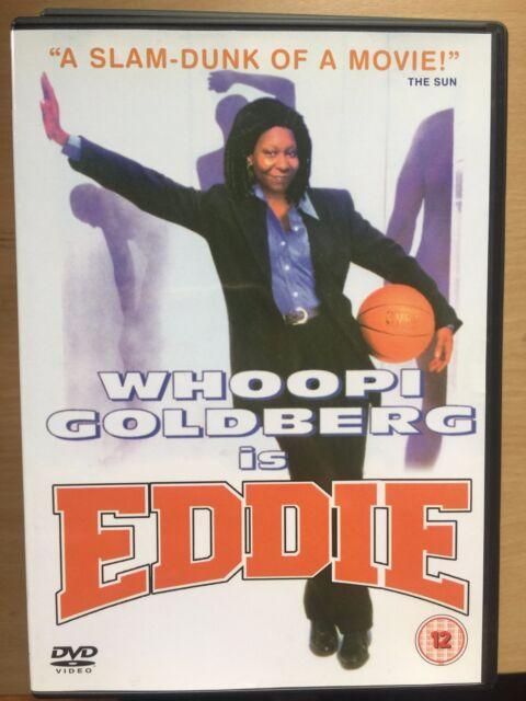 Whoopi Goldberg Frank Langella EDDIE ~ 1997 Basketball Comedy | UK DVD