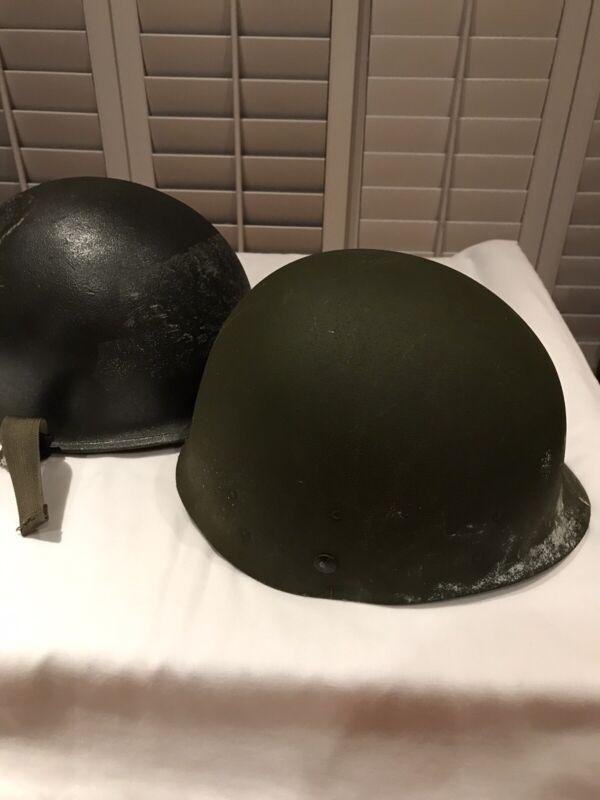 Vintage Vietnam War US Army Helmet & Liner Steinberg Bros DSA-100-72-C-1436