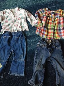 Lot of size 12-18m and size 1 clothes