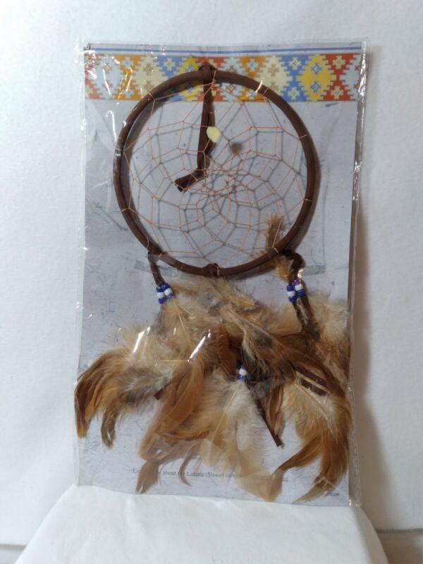 "Lakota (Sioux) 6"" Dream Catcher St. Joseph"