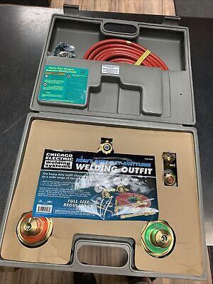 Oxygen Acetylene Welding Kit Chicago Electric Olsen 92496 Never Used
