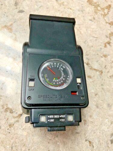 Canon Speedlite 199A Shoe Mount Flash w/ Original Leather Case