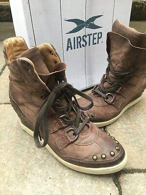 A.S.98 Airstep Stiefeletten Boots in grün Gr. 40 NEU