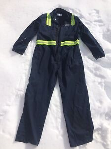 Men's work overalls with reflective strips (size 44 regular)