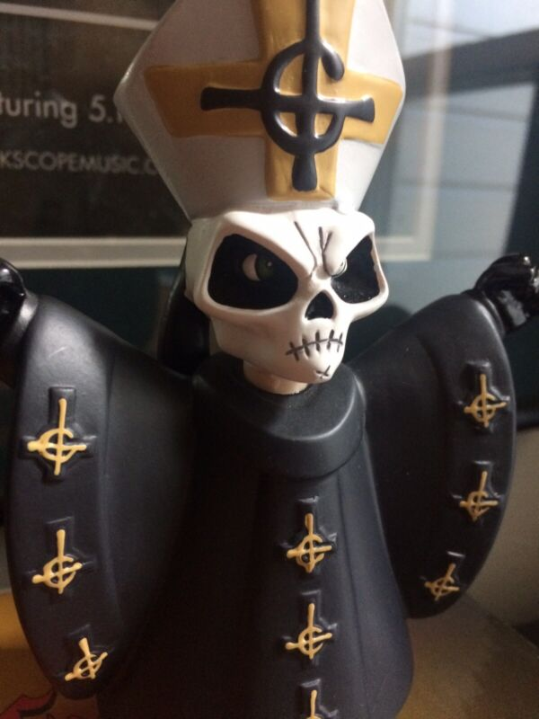 """Ghost Papa Emeritus 5"""" Resin Figure! Official And New!"""